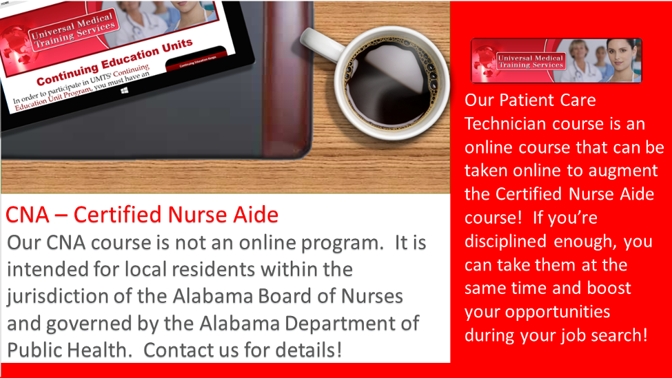 UMTS CNA Course Description